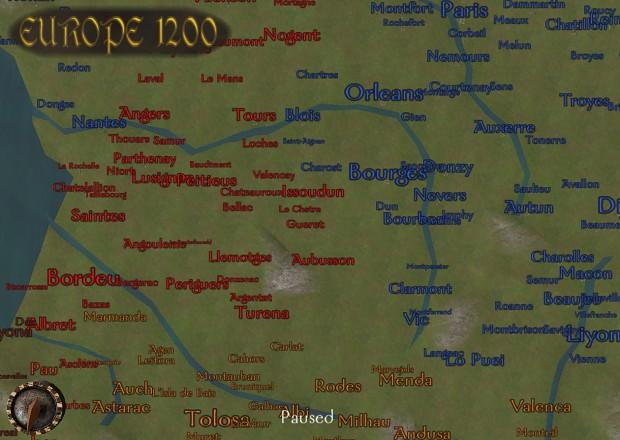 скачать мод европа 1200 на Mount And Blade Warband - фото 2