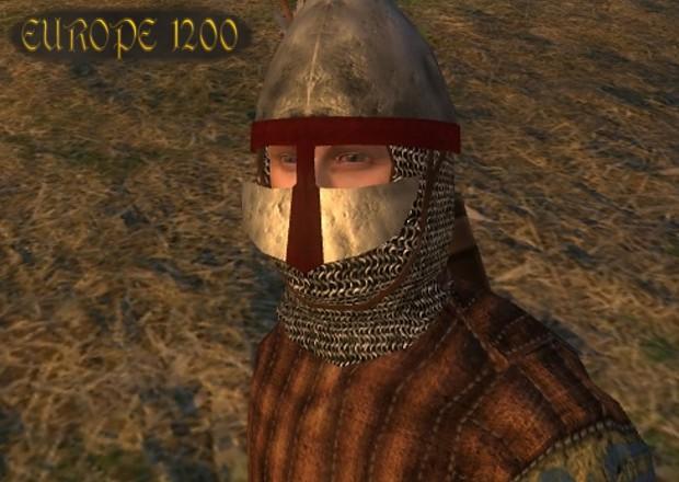 Phrygian helmet with nasal guard