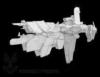 UNSC Assault Frigate