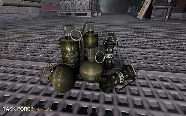 Task Force Black - Grenades