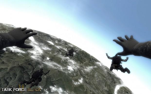 Task Force Black - HALO Jump Concept