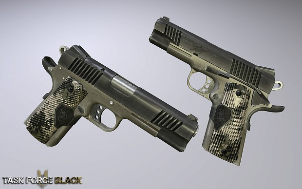 Task Force Black - M1911 Kimber Covert II
