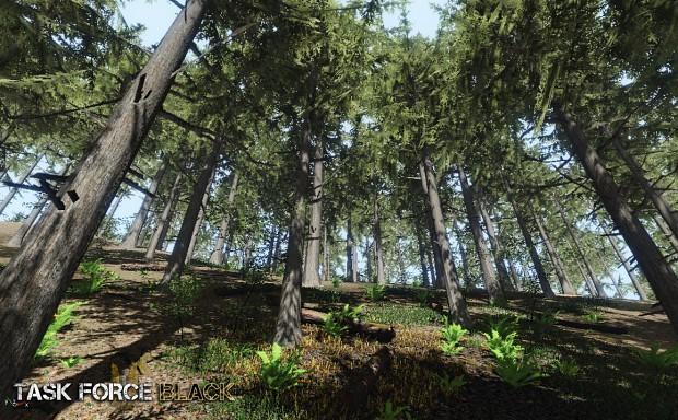 Task Force Black - Tree Vegetation