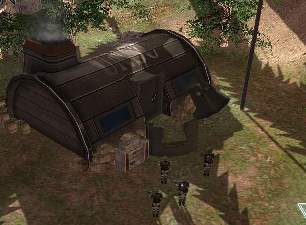 UNSC Barracks