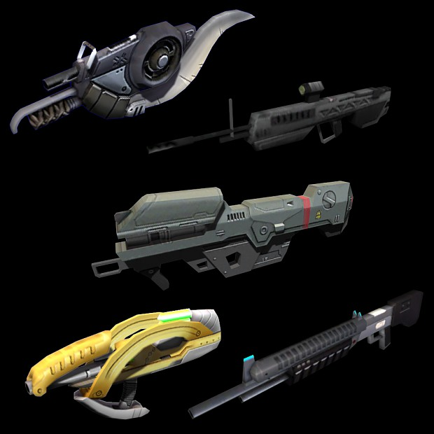 New gun models
