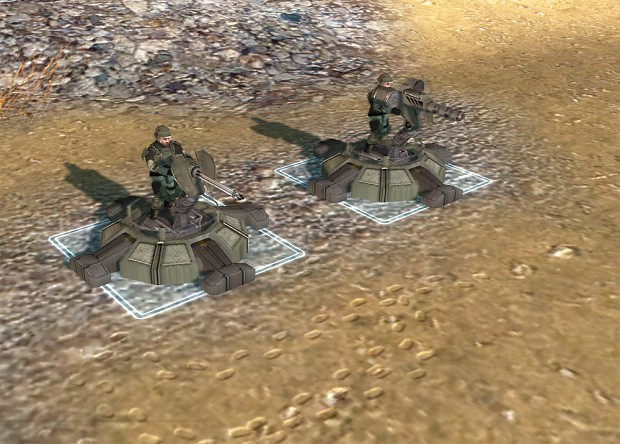 UNSC Turrets