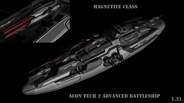 Aeon Tech 2 Advanced Battleship
