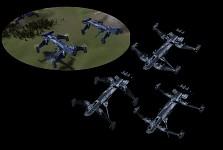 UEF : Advanced T1 support gunship