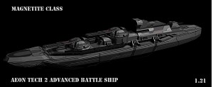 Aeon T2 Advanced Battleship