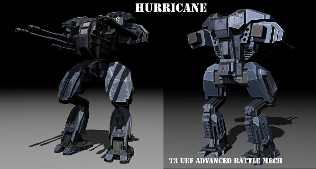 UEF T3 Advanced Battle Mech