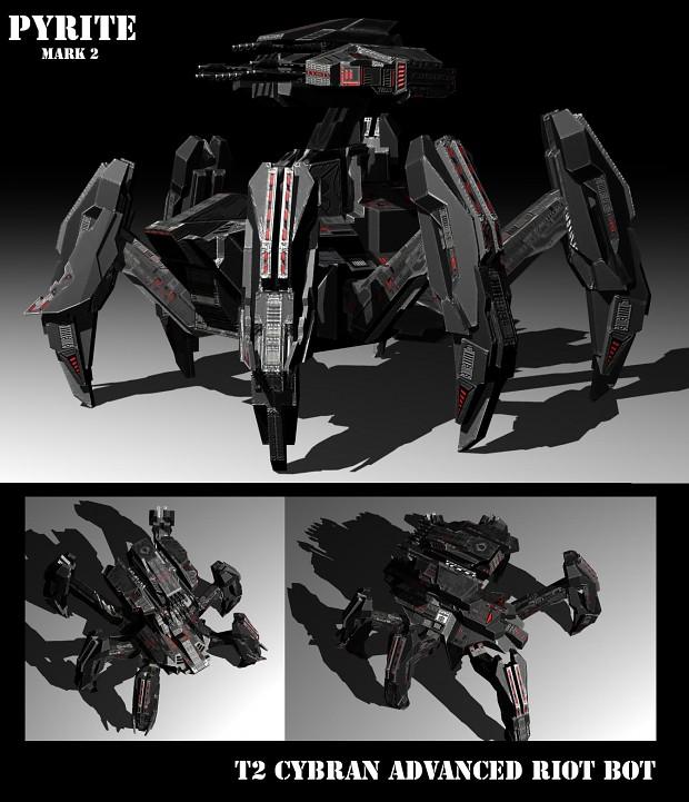Cybran T2 Advanced Riot Bot