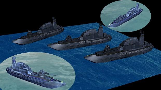 UEF dispatch boat Anti navy