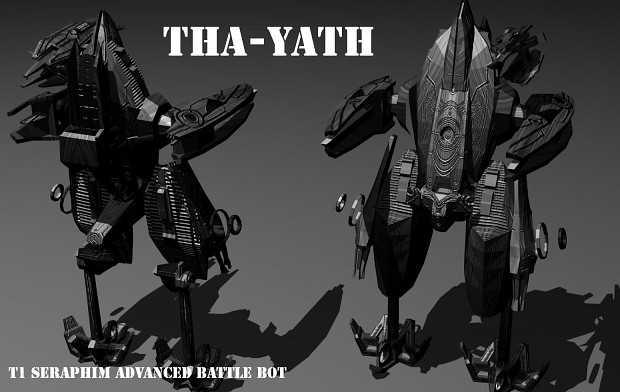 Seraphim T1 Battle Bot