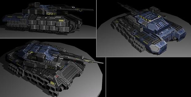UEF Tank model
