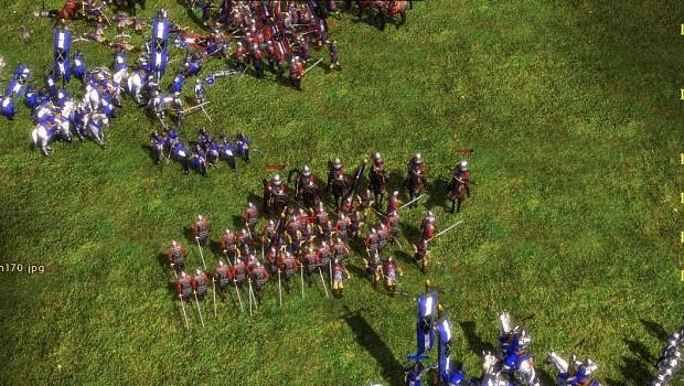 army battle!