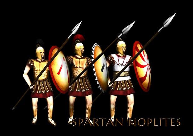 A render of the new Spartan Hoplites