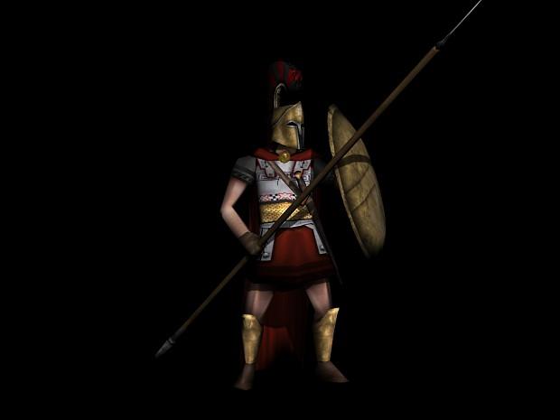 Spartan Hoplite.