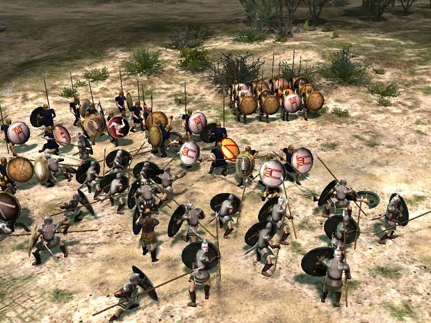 Athenians vs Spartans