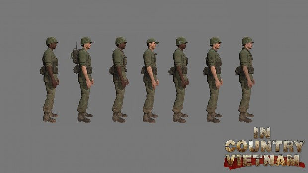 US Army Multiplayer Classes & Variations