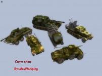 Camo skins