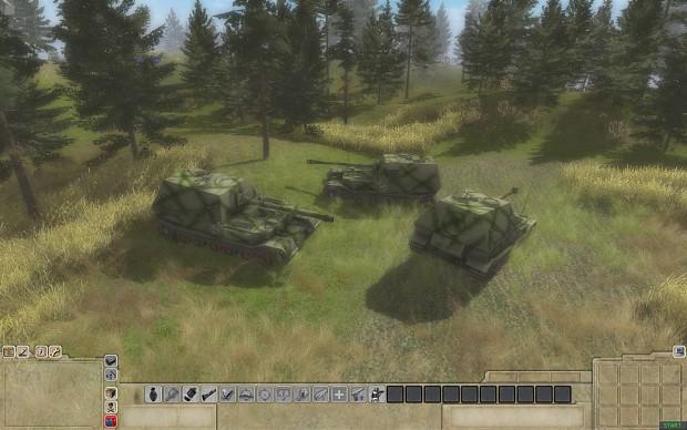 Ferdinand 3rd SS panzer skin.