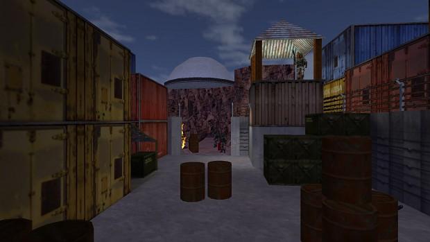 Screenshots from Half-Life: Uplink Extended.