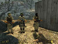 MVD soldiers