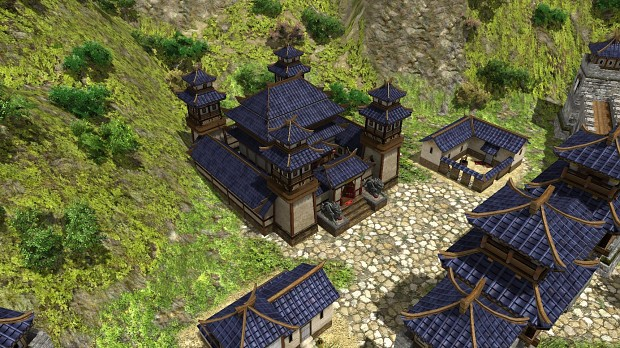 A few buildings screenshots