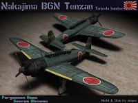 """Nakajima B6N """"Tenzan"""""""