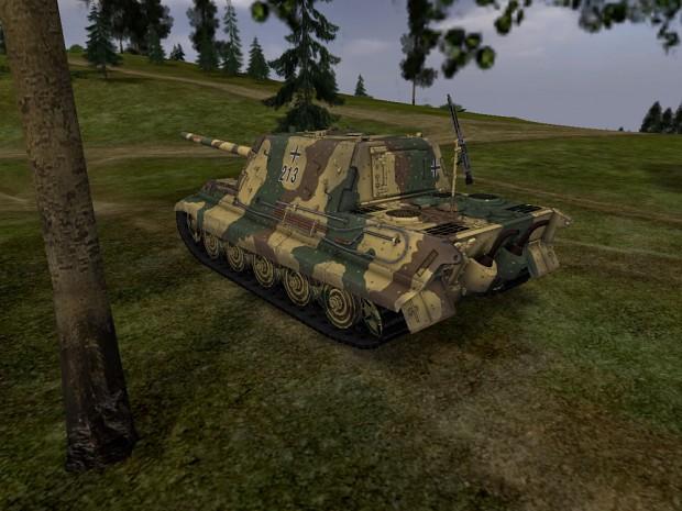 Jagdpanzer VI Jagdtiger Summer