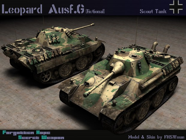 Leopard Ausf. G (fictional)