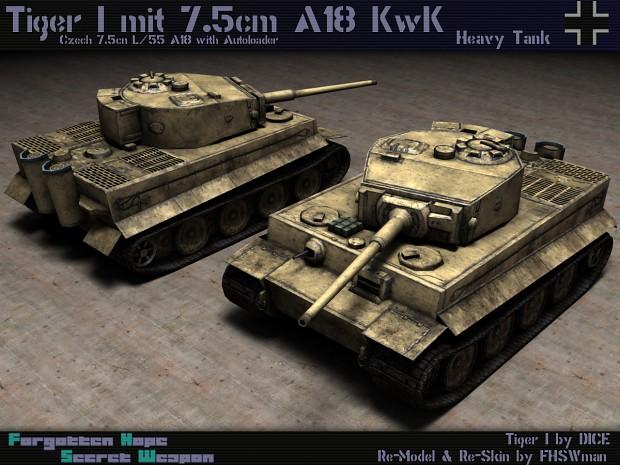Tiger 7.5 cm A18