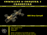 New model GDI Orca Carryall