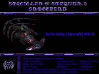 Remake Model Scrin King (Aircraft) MK.II