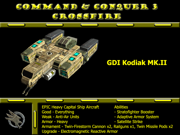 Remake Model GDI Kodiak MK.II