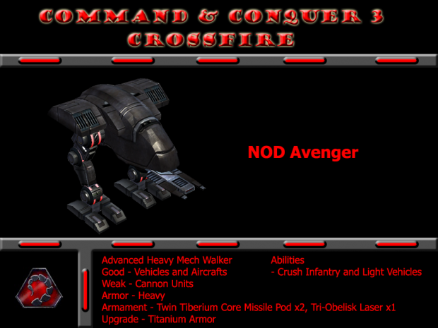 Re-touch Model Nod Avenger (Version 2)