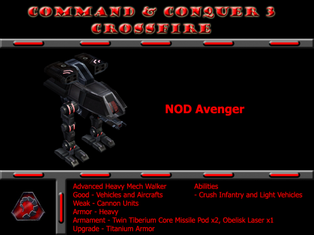 Remake Model NOD Avenger