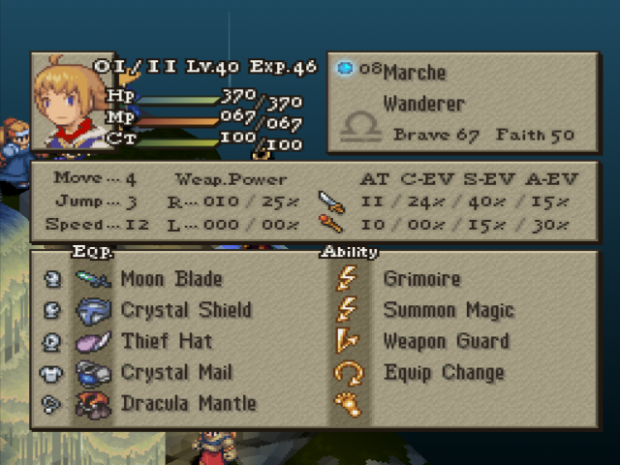 New Playable NPC - Marche from FFTA!