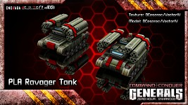 PLA Ravager Tank (Updated)