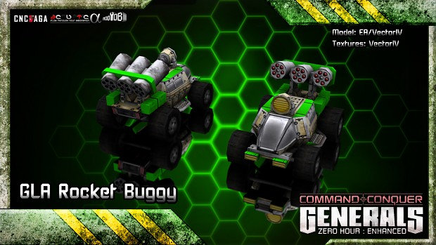 GLA Rocket Buggy