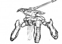 SpiderMech concept by Harmonica.