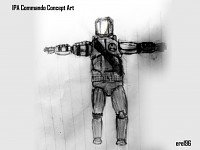 IPA Commando Concept Art