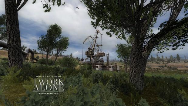 I Work Alone (image) nature ver.1.2