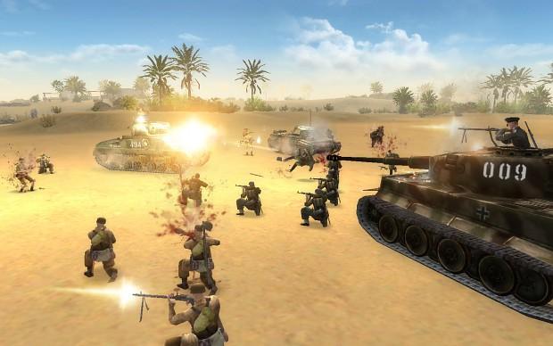 Теги В тылу врага 2, Лис пустыни, Штурм, Ребят, Men of War Assault