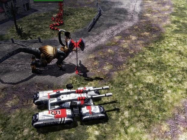 Blade Breaker <vs> Mammoth Tank - Size matters