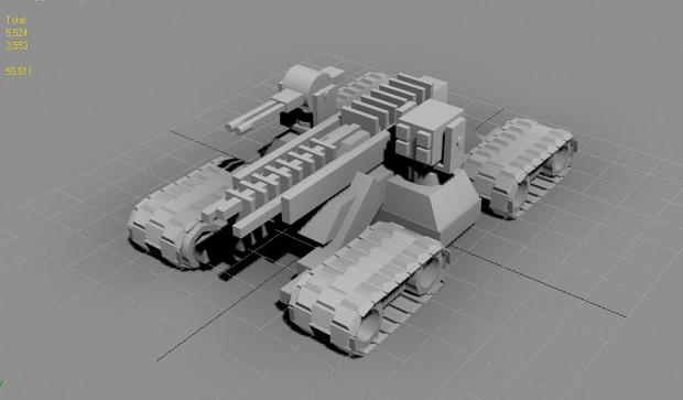 full 3D Tank Treads