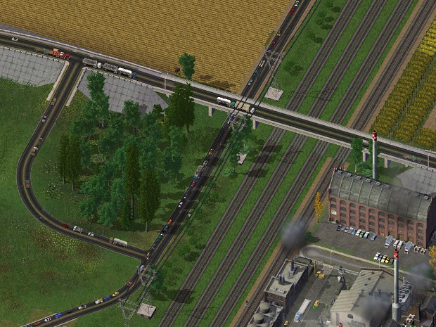 NAM Elevated Road Puzzle Pieces and Smooth Curves