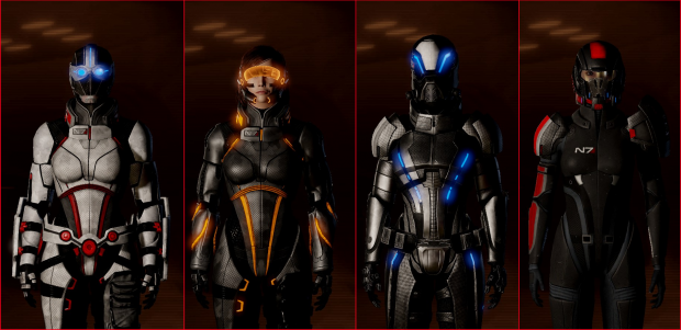 Improved Armor Customization