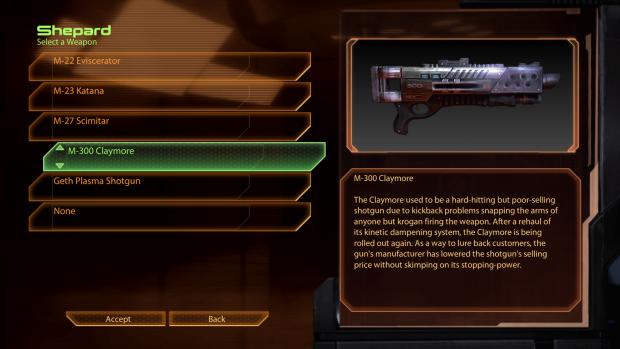 Claymore Shotgun Revisions