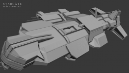 Ancient Warship model - v2 WIP